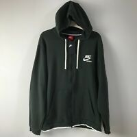 Nike Archive Full-Zip Sportswear Hoodie Green/White SZ 3XL NWT 940248-332 Men's