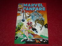 [BD COMICS MARVEL USA] MARVEL FANFARE # 24 - 1986
