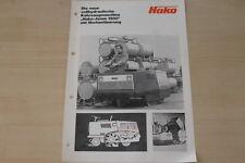 163312) Hako Kehrmaschine Jonas 1500 Prospekt 197?