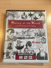 History of the World Library Reference Series CD ROM for PC & MAC Software IT