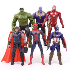 Marvel Avengers Guerre Infinity Hulk LED Action Figure PVC Jouet 10PCS