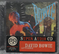 David Bowie Let's Dance Sacd Cd Album Neuf New Neu With French Sticker