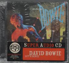 David Bowie Let's Dance Sacd Cd Album Neuf New Neu With French Sticker