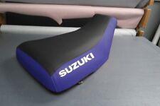 Suzuki LTZ400 2003-08 Blue Sides Logo Seat Cover #nw3823mik3822