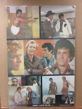 Vintage Poster Starky & Hutch Collage TV series actor 1976 Inv#G817