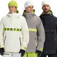 Burton Frostner Anorak Herren-Skijacke Winter-Windbreaker Snowboard-Schlupfjacke