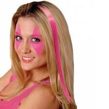 Extensions de cheveux rose longs pour femme
