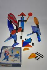 Pablo Junior Stick Game 3D Creative Geometric Construction Vtg 1980 B. Terwey