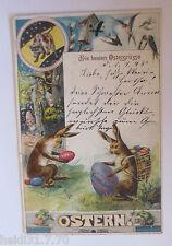 """"""" Easter, Dwarves, Hares, Frog, Bird, Easter Egg """" 1998 (33330)"""