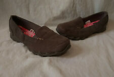 Faded Glory Womens Memory Foam Brown Loafers/Slip On Comfort/Casual Shoes-Sz 9
