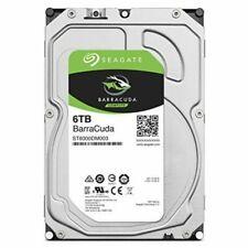 Hard disk interni Seagate con SATA III con 6 TB di archiviazione