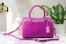 Kate Spade Devyn Medium Saffiano Leather Baja Rose Crossbody Duffel Bag Handbag