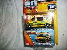 MATCHBOX  RENAULT MASTER AMBULANCE #06