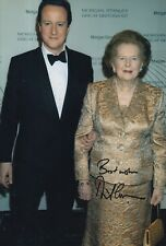 David Cameron Hand Signed 12x8 Photo UK Prime Minister.