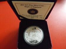 *Kanada 15 Dollars 2011 Silber PP *  Maple of Happiness (Schr.)