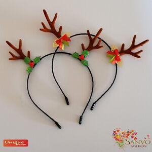 Christmas Antlers Headband Girls Women Deer Horn Hair Accessories For Christmas