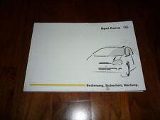 Opel Corsa manual de instrucciones 07/1998