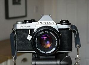 Pentax ME Super with Pentax 50mm prime lens - new seals