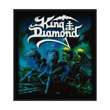 More details for official licensed - king diamond - abigail sew-on patch death metal