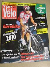 TOP VELO N°151: OCTOBRE 2009: EUROBIKE - SHIMANO Di2 - PINARELLO DOGMA 60.1 -