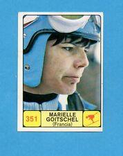 CAMPIONI dello SPORT 1968-69-Figurina n.351- GOITSCHEL -FRANCIA - SCI -NEW