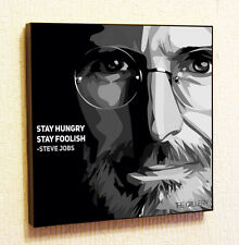 Steve Jobs Quotes Apple Painting Decor Print Wall Art Poster Pop Canvas Quotes