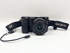 Sony Alpha a6000 24.3 MP Digital Camera Body With EPZ 16-50mm f/3.5-5.6 OSS Lens