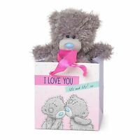 "Me to You I Love You Lots 5"" Plush In Gift Bag For Loved One - Tatty Teddy Bear"