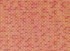 FALLER 170608 H0 Mauerplatte Backstein