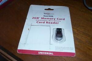 Verizon Sandisk MobileMate Micro Memory Card Reader