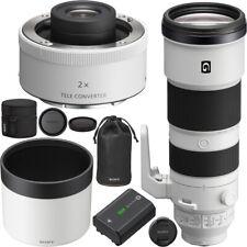 Sony FE 200-600mm F5.6-6.3 G OSS Lens Full Frame + Sony 2x Teleconverter Bundle