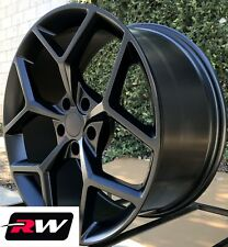 "20x9"" 20x10"" Camaro Z28 OE Replica Wheels Matte Black Staggered Rims for Camaro"