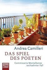 Das Spiel des Poeten: Commissario Montalbano (16) - Andrea Camilleri - UNGELESEN