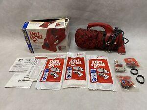 Royal Dirt Devil Hand Vac Handheld Vacuum Cleaner 103 Works! 9 bags, 7 belts,