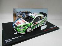FORD FOCUS WRC RALLY MONTE CARLO 2008 GALLI ALTAYA IXO 1/43