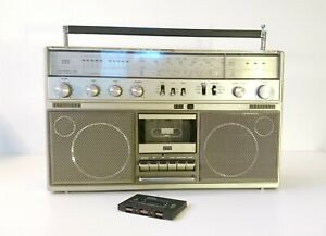 ITT Schaub-Lorenz Touring 120 Vintage Boombox - Made in Germany 1981- Rare!