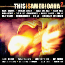 This Is Americana, Vol. 2 by Various Artists (CD, Aug-2005) Disc Only, Free Ship