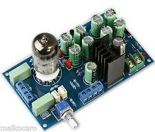 preamplificatore MONTATO stereo KIT BUFFER 6N3 valvolare a valvole tubes DIY pre
