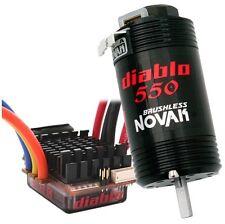 NOVAK DIABLO 550 combo brushless 2S- dual battery