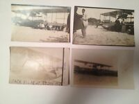 4-1913 RPPC Historic 1st Airplane Flight Across Lake Michigan Likely 1 Of A Kind