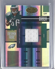 2005 Leaf Certified Materials FB Reggie Brown Eagles Jersey RC #100/999