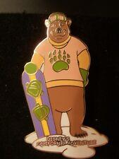 Disney Pin 10167 DCA Rare Snowboarder Bear HTF New 2001 backstamp Snowboarding