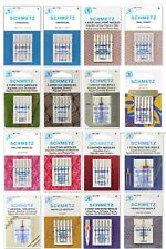 Schmetz Sewing Machine Needles, Choose from 92 Types/Sizes