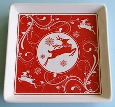 Holiday Reindeer Plate and Cheese Spreader