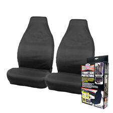 Heavyweight LITE Front Seat Protectors Water Resistant Covers Pair Car Van Full