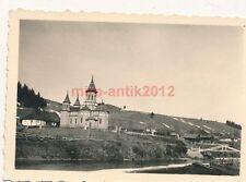 Foto, Panzerjäger, Blick auf eine Kirche in Rumänien, Balkanfeldzug (W)1548