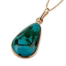 Fine Jewelry Eilat stone pendant 14k gold + gold chain ! high quality jewelry