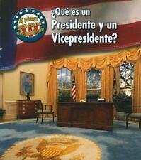 ¿Qué es un Presidente y un Vicepresidente? (Mi primera guía acerca del gobierno)