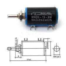 Black Precision WXD3-13-2W Potenziometri a filo avvolto multigiro 10K WQ