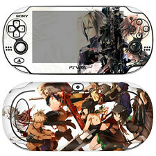Skin Decal Sticker For PS Vita Original PCH-1000 Series-God Eater 2 #02 + Gift